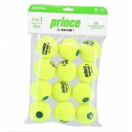 Prince Stage 1 Play&Stay Green 12 Ball Beutel