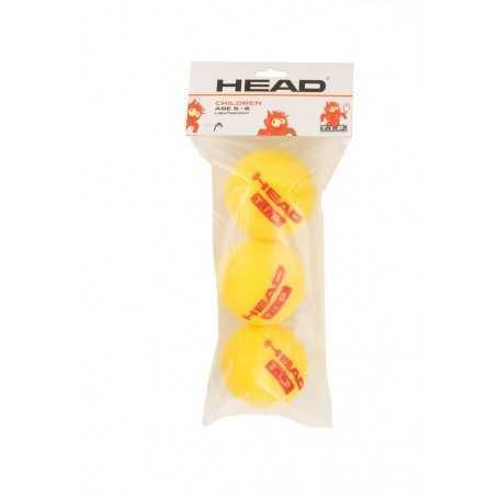 Head TIP Red Foam Light 16X3 Ball Beutel