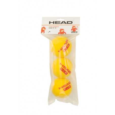 Head TIP Red Foam 16X3 Ball Beutel