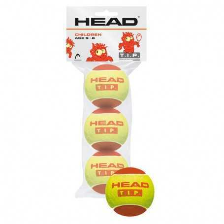 Head TIP Red 3 Ball Beutel