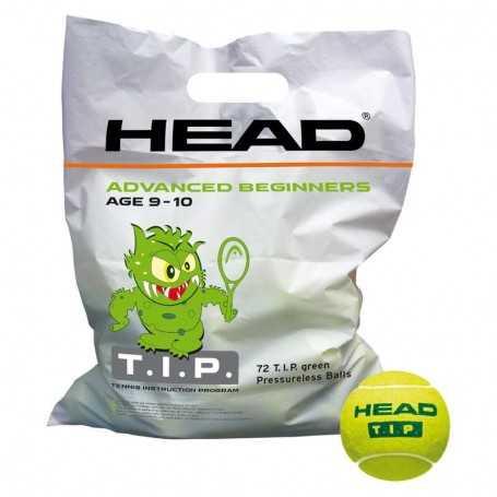 Head TIP Green 72 Ball Beutel