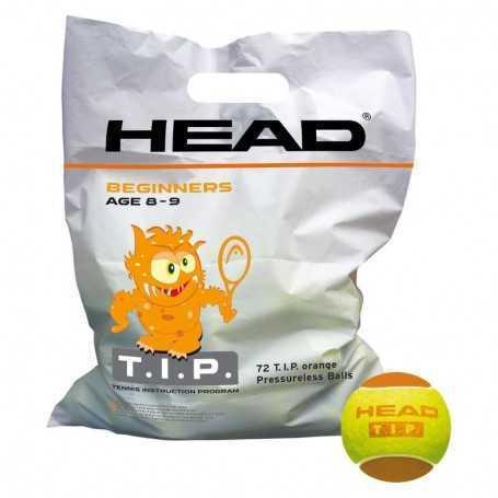 Head TIP Orange 72 Ball Beutel