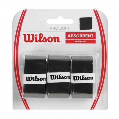 Wilson Pro Soft Overgrip schwarz