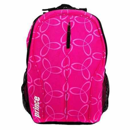 Prince Team Backpack Junior pink-schwarz