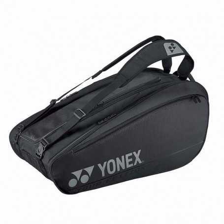 Yonex Pro X6 Tennistasche schwarz