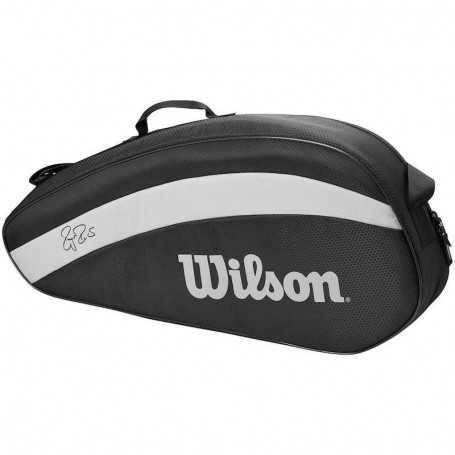 Wilson Federer Team X3 Tennistasche schwarz