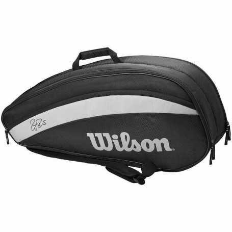 Wilson Federer Team X6 Tennistasche schwarz