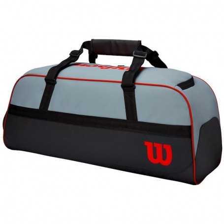 Wilson Clash Duffel Large Tennistasche grau-schwarz