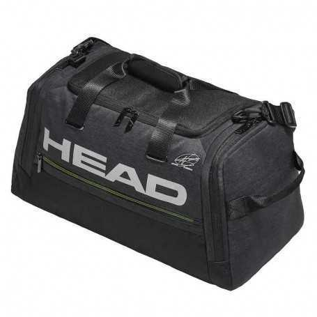 Head Duffel Tennistasche grau-schwarz