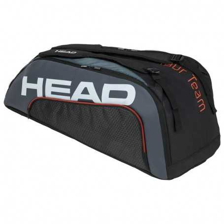 Head Tour Team X9 Supercombi Tennistasche schwarz-grau