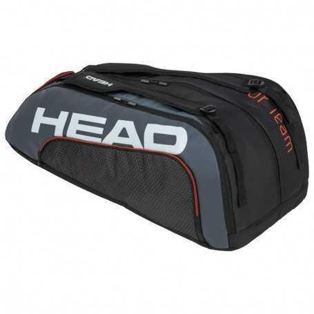 Head Tour Team X12 Monstercombi Tennistasche schwarz-grau