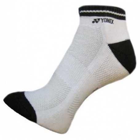 Yonex Socken kurz Damen 1er weiss-schwarz