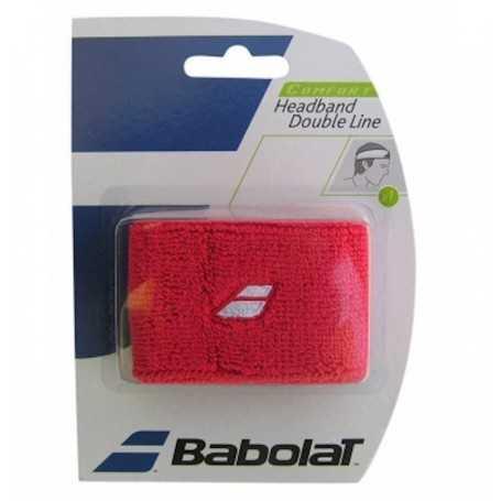 Babolat Stirnband Double Line rot