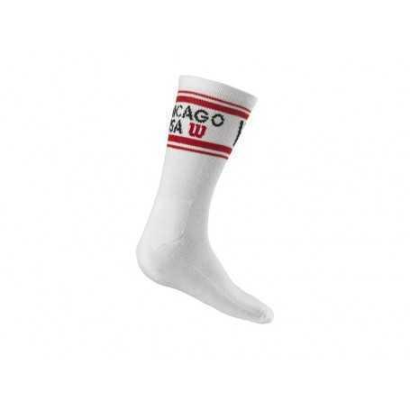 Wilson Socken Crew Since 1914 lang 1er Herren weiss