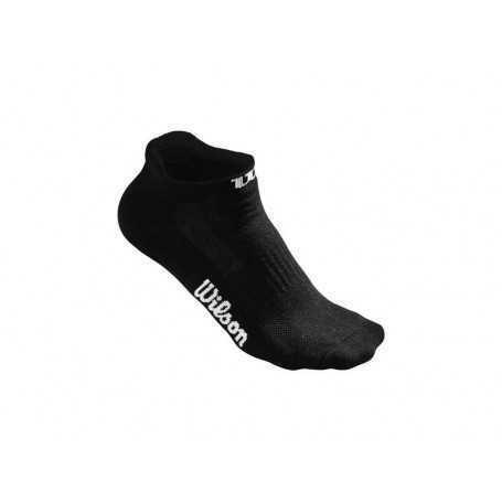 Wilson Socken No Show kurz 3er Damen schwarz