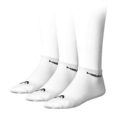 Head Socken Sneaker kurz 3er weiss