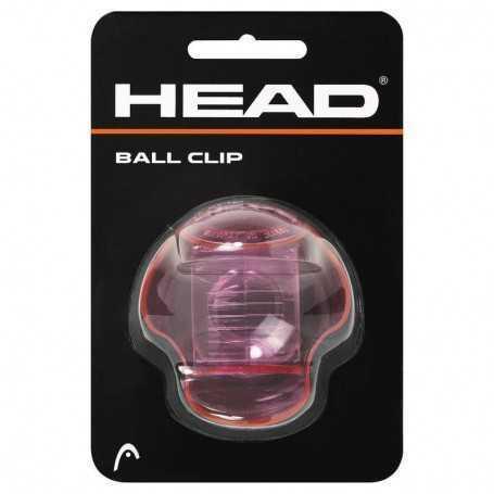 Head Ball Clip pink