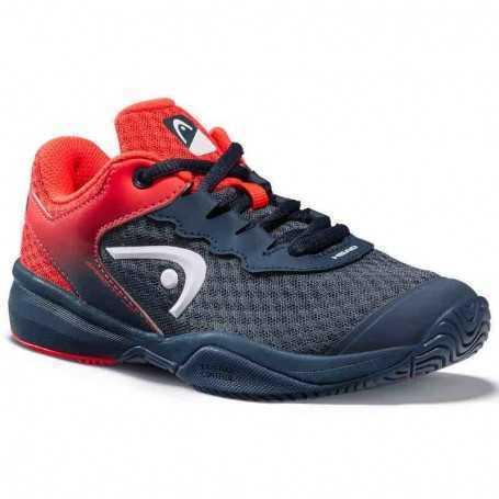 Head Sprint 3.0 Allcourt Kinder Tennisschuhe dunkelblau-rot
