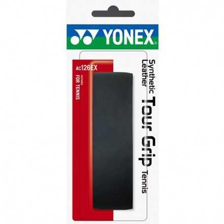 Yonex Synthetic Leather Tour Grip Basicgrip schwarz