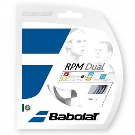 Babolat RPM Dual Set 12m 1,30mm schwarz-grau