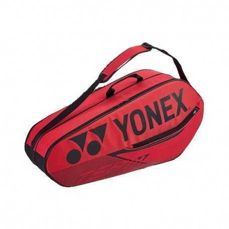 Yonex Team X6 Tennistasche rot
