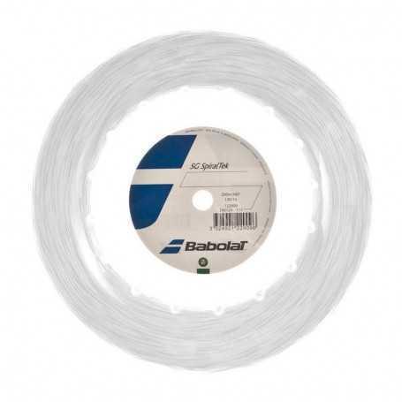 Babolat SG SpiralTec Rolle 200m 1,30mm weiss