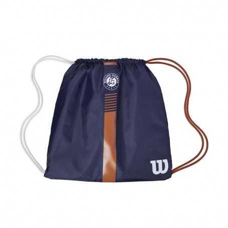 Wilson Roland Garros Cinch Bag navy-clay