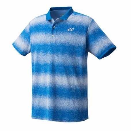 Yonex Herren Polo T-Shirt blau-weiss