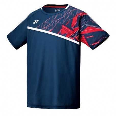 Yonex Herren Crew Neck T-Shirt dunkelblau