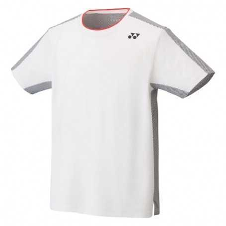 Yonex Herren Crew Neck T-Shirt weiss-grau