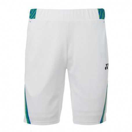 Yonex Herren Shorts weiss-grün-blau