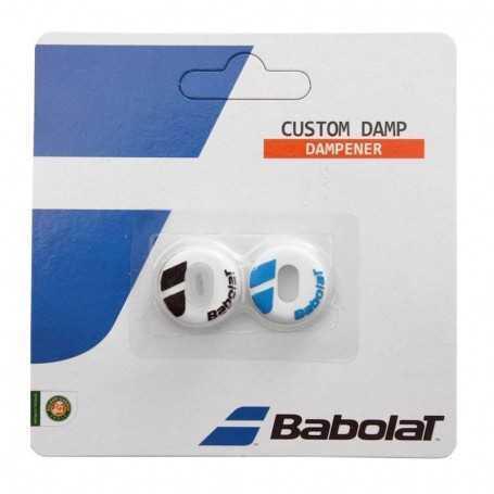 Babolat Custom Dämpfer weiss-blau-schwarz