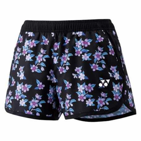 Yonex Damen Shorts Blumen schwarz