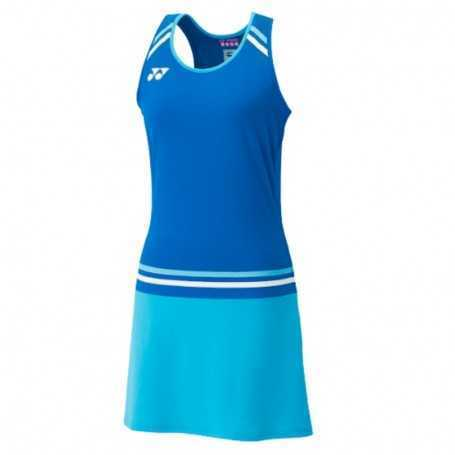 Yonex Damen Dress mit BRA und Innenhose blau