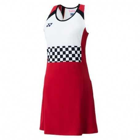 Yonex Damen Dress mit BRA und Innenhose rot