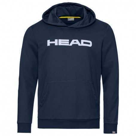 Head Club Byron Hoodie Junior dunkelblau-weiss