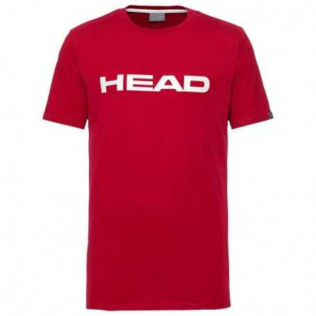 Head Club Ivan T-Shirt Junior rot-weiss
