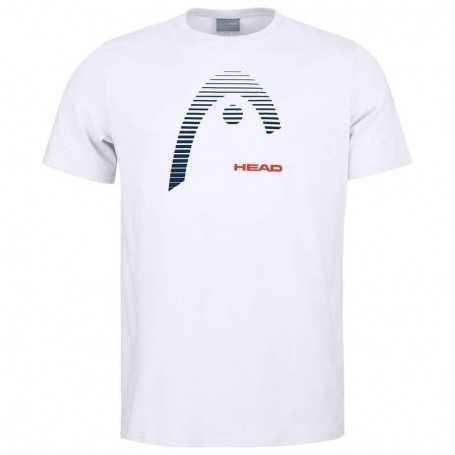 Head Club Carl T-Shirt Junior weiss