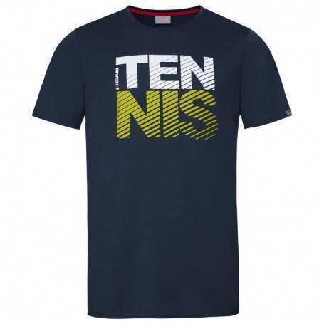 Head Club Chris T-Shirt Junior dunkelblau