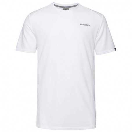 Head Club Tech T-Shirt Boys weiss