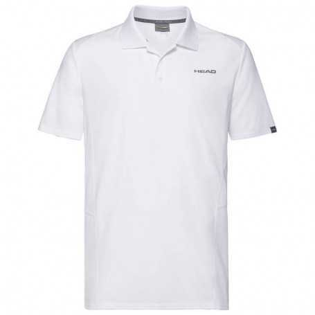 Head Club Tech Polo Shirt Boys weiss
