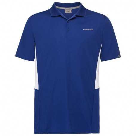 Head Club Tech Polo Shirt Boys royal