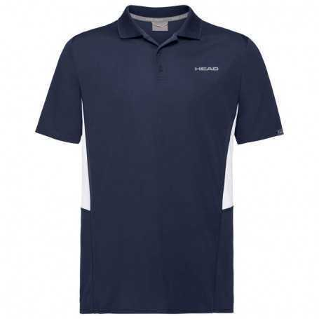 Head Club Tech Polo Shirt Boys dunkelblau
