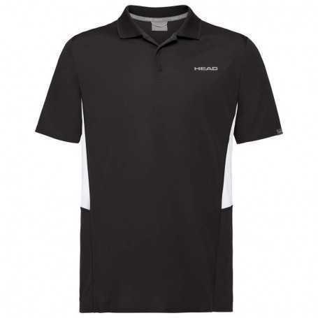 Head Club Tech Polo Shirt Boys schwarz