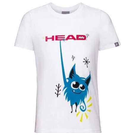 Head Vision Novak T-Shirt Boys weiss
