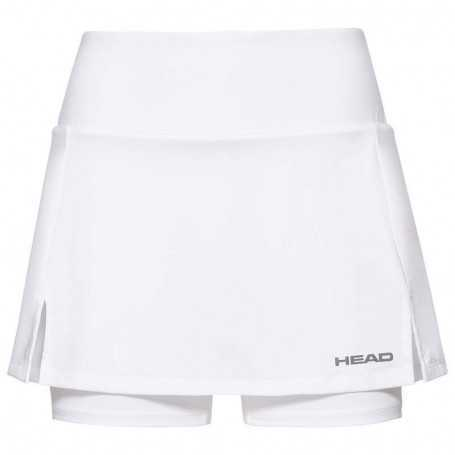 Head Club Basic Skort Girls weiss