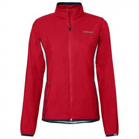 Head Club Jacke Girls rot