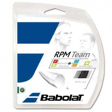 Babolat RPM Team Set 12m 1,25mm schwarz Besaitungsset