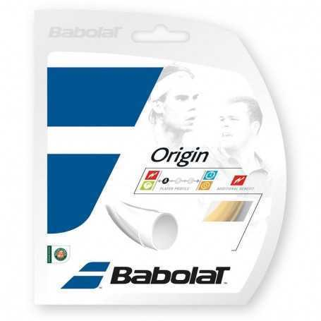 Babolat Origin Set 12m 1,25mm natural Besaitungsset
