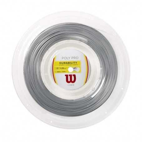 Wilson Poly Pro Rolle 200m 1,25mm silber
